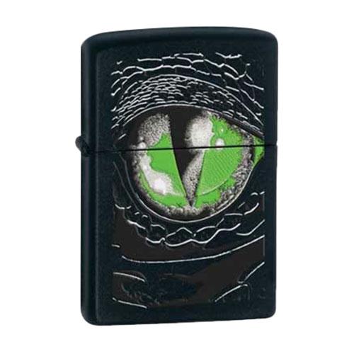 Bật Lửa Zippo 24719 - Bật Lửa Zippo Reptile Eye Black Matte