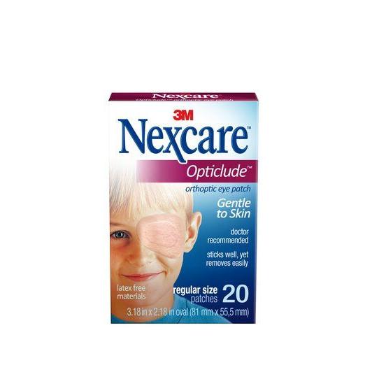 Combo 3 Hộp Băng dán mắt khắc phục chứng suy giảm thị lực 3M Nexcare cỡ lớn (20 miếng/hộp)
