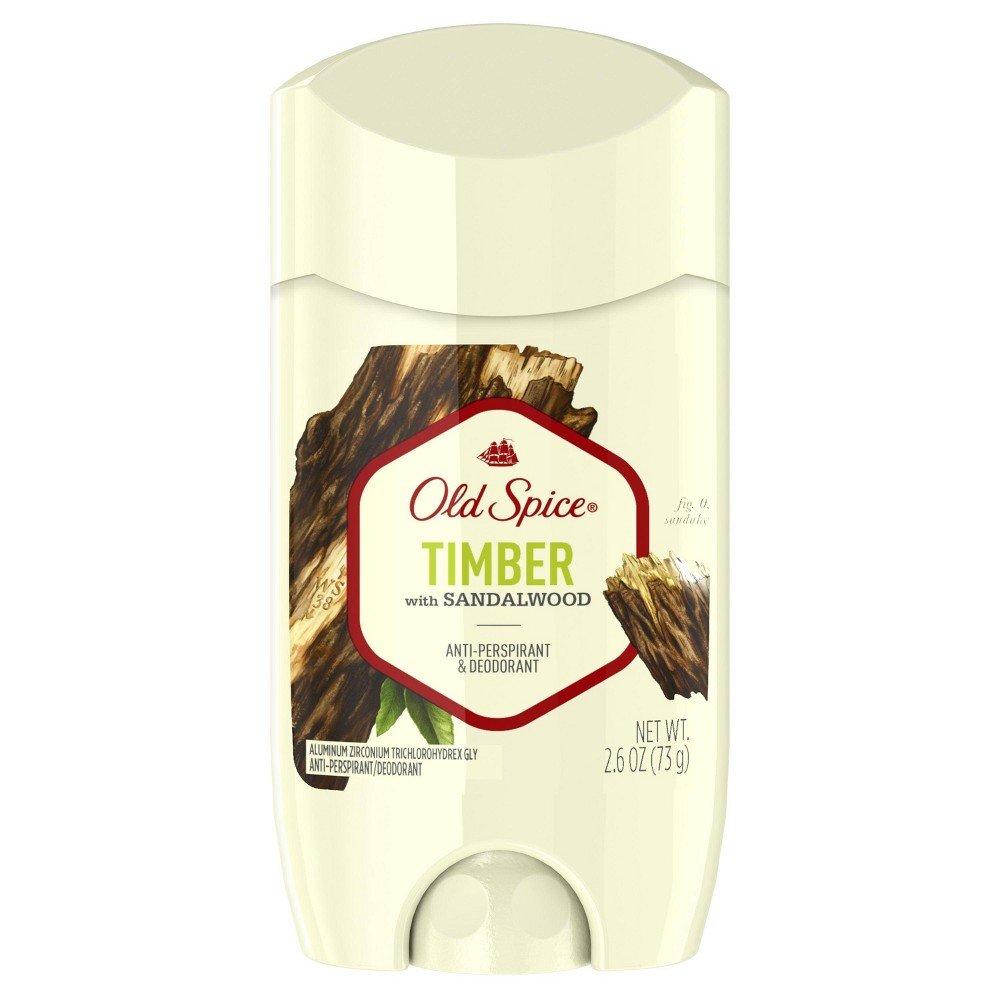 Sáp khử mùi Old Spice Timber 73g ( nắp trắng )