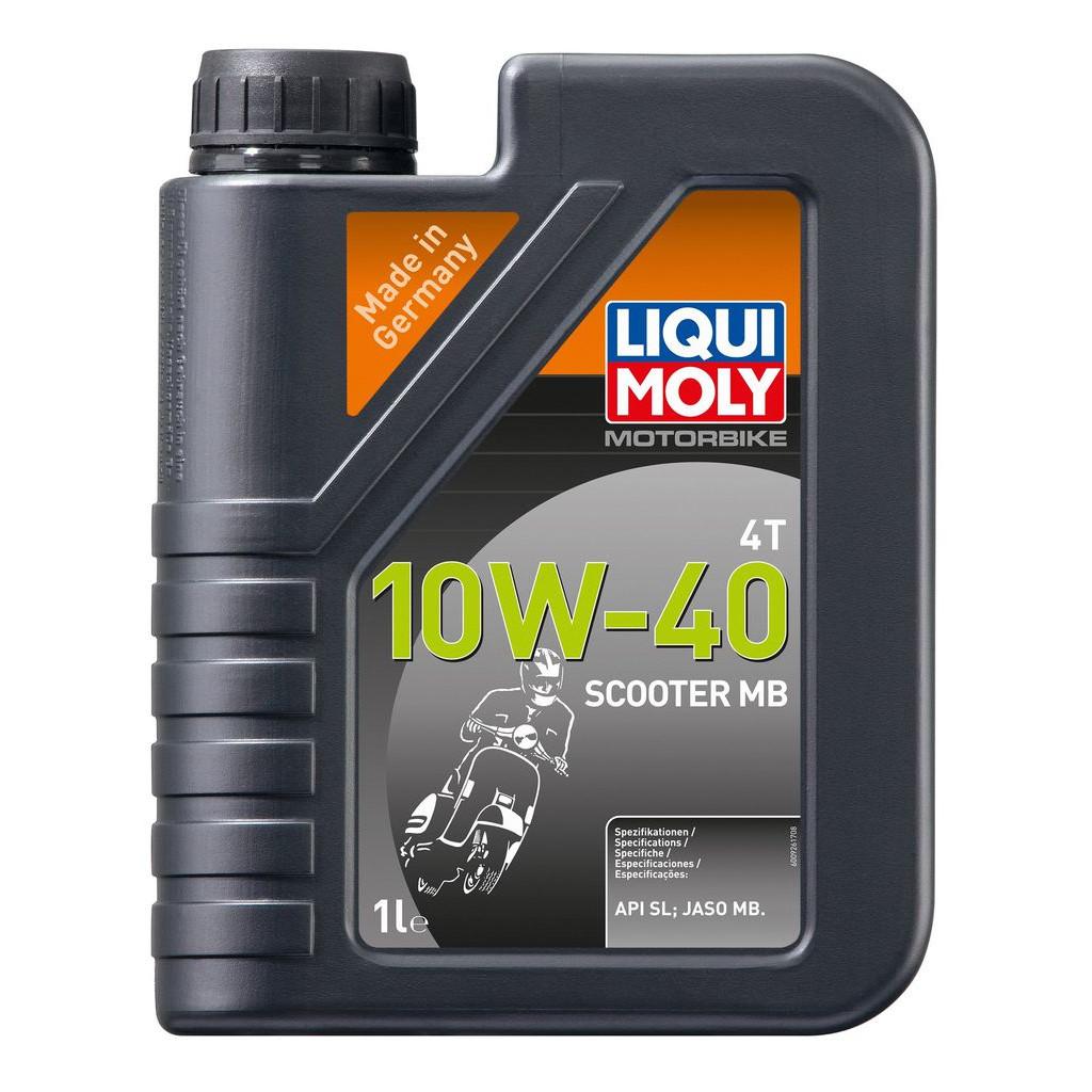 NHỚT CHUYÊN DÙNG CHO XE TAY GA LIQUI MOLY MOTORBIKE SCOOTER 10W-40 20832 1LIT