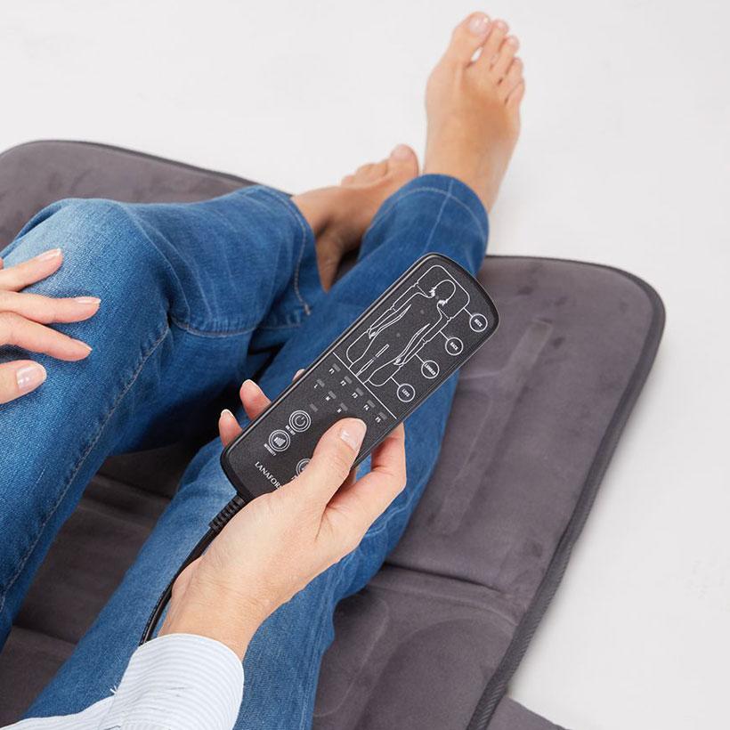 Đệm massage toàn thân Lanaform Massage Mattress LA110315