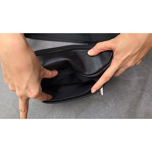 Túi Đeo Chéo - Túi Bao Tử Nam Thời Trang Da Cao Cấp Tiện Dụng Nhiều Ngăn Nhỏ Gọn DC-CT01 + Tặng Bộ Nút Chơi Game