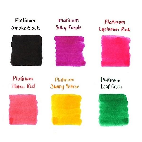Combo 10 túi ống mực Platinum cho bút Preppy Nhật Bản và các dòng bút máy hãng Platinum