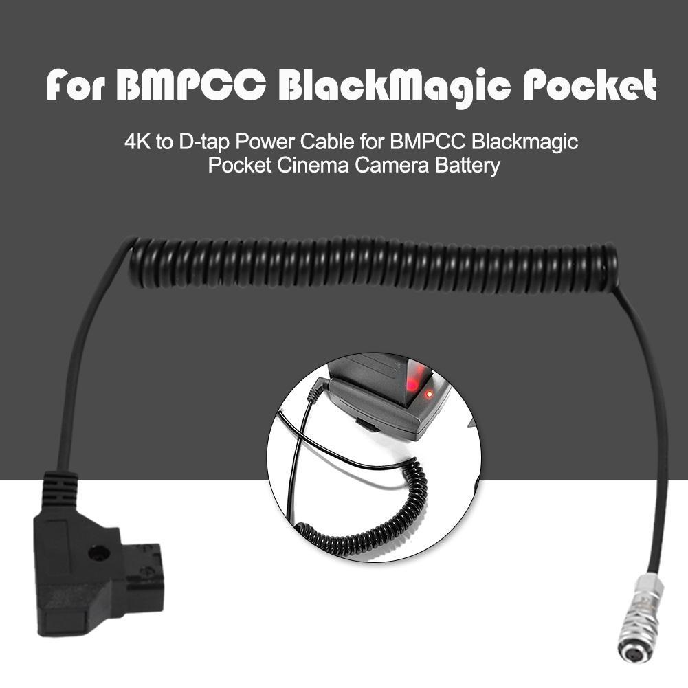 Dây Power Supply For BMPCC Camera - D Tap - Hàng Nhập Khẩu