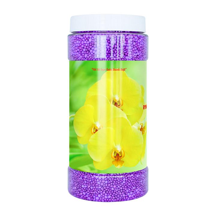 Phân Bón Thông Minh Rynan Flowermate 210 (Hũ 1.36Kg) - Dùng Cho Phong Lan, Hoa Kiễng Trưởng Thành, Thời Kỳ Sau Ra Hoa và Nuôi Dưỡng Mầm Mới