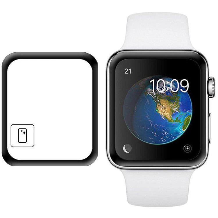 Miếng Dán Cường Lực Vmax Cho Apple iWatch / Apple Watch 38mm Full keo - Hàng Chính Hãng