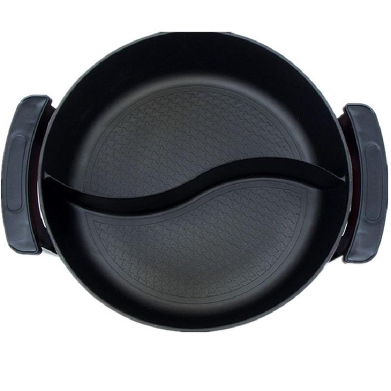 Bếp lẩu điện 2 ngăn