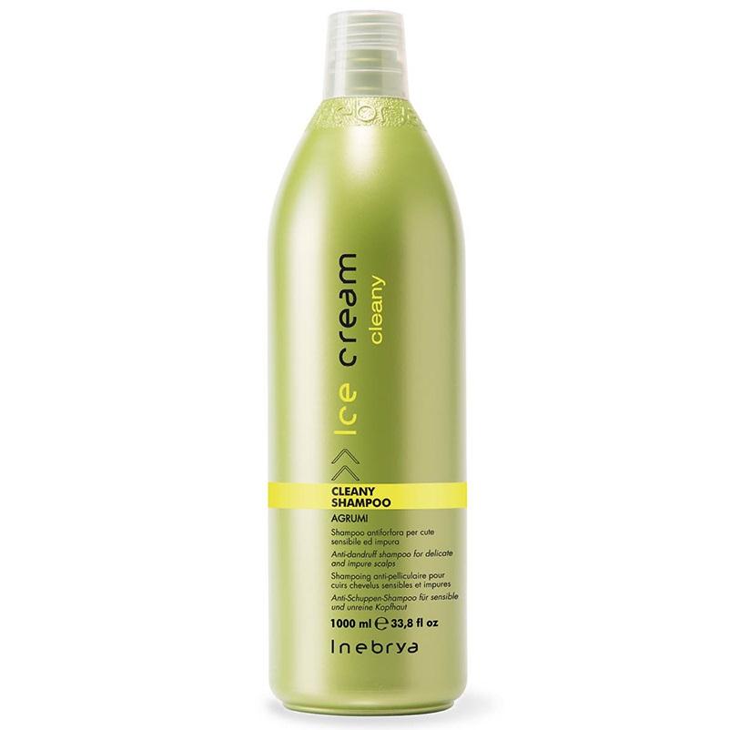 Dầu gội làm sạch gàu Inebrya Ice-Cream Cleany Shampoo (Agrumi) Italy 1000ml