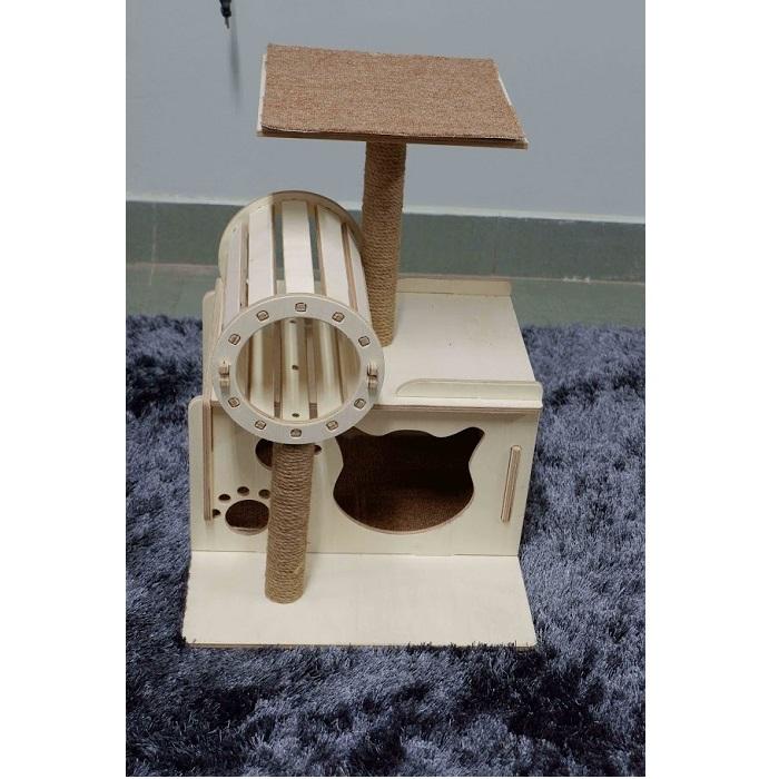 Nhà Cây 1 Tầng Hiện Đại Dành Cho Mèo #CH006