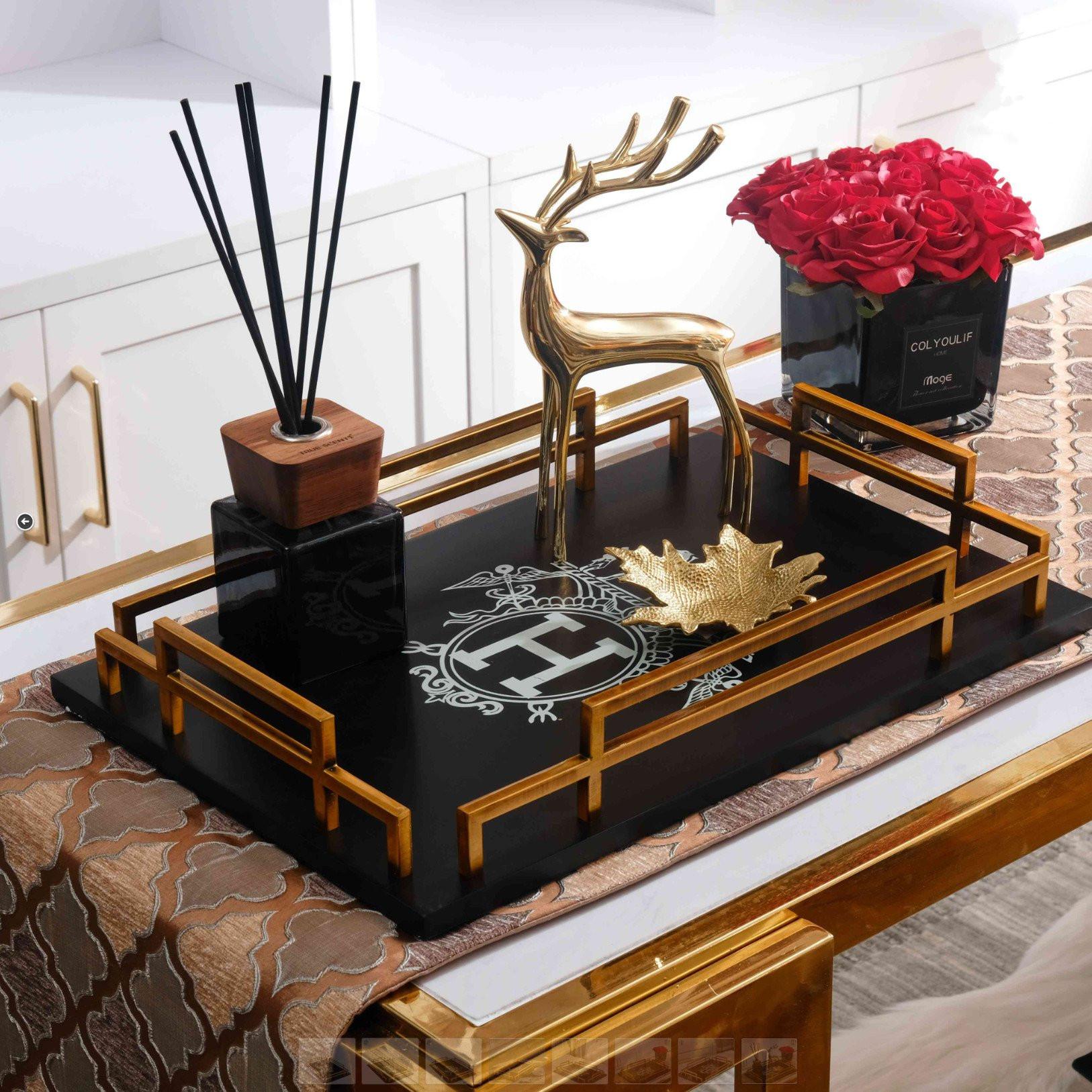 Khay trà HERITAGE Trang trí phòng khách
