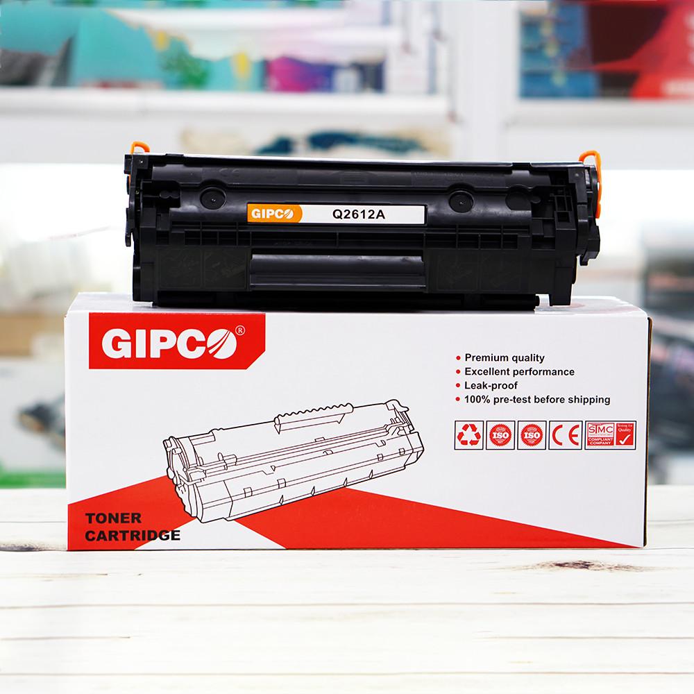 Hộp Mực In HP 12A GIPCO Q2612A - Hàng Chính Hãng
