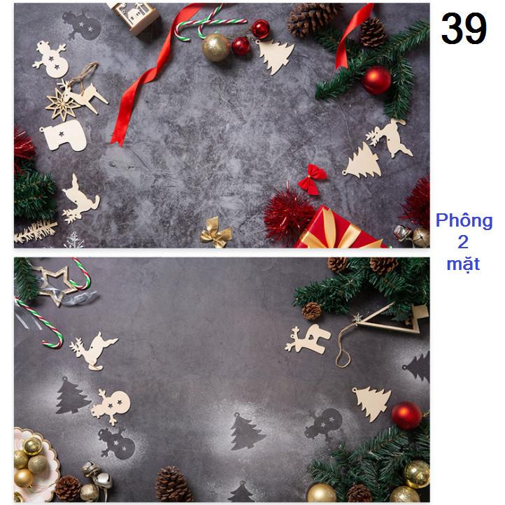 Tấm phông nền chụp ảnh 2 mặt 60x90cm mã 39