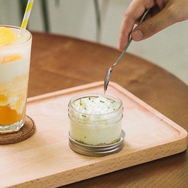 Set 6 hũ thủy tinh nắp nhôm miệng rộng 100ml đựng bánh FLan, sữa chua