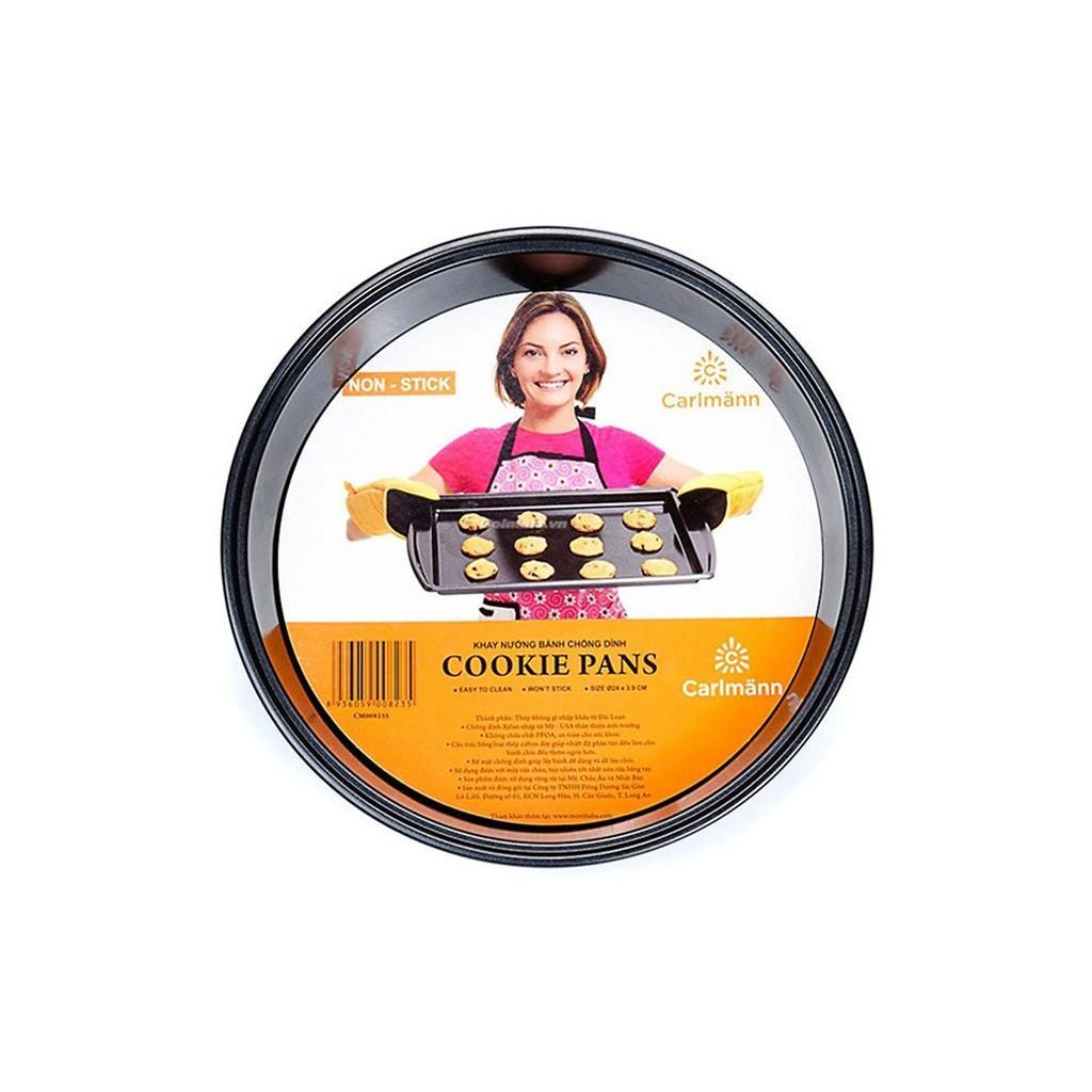 Khay nướng bánh CD 24x4.5cm-CM008235