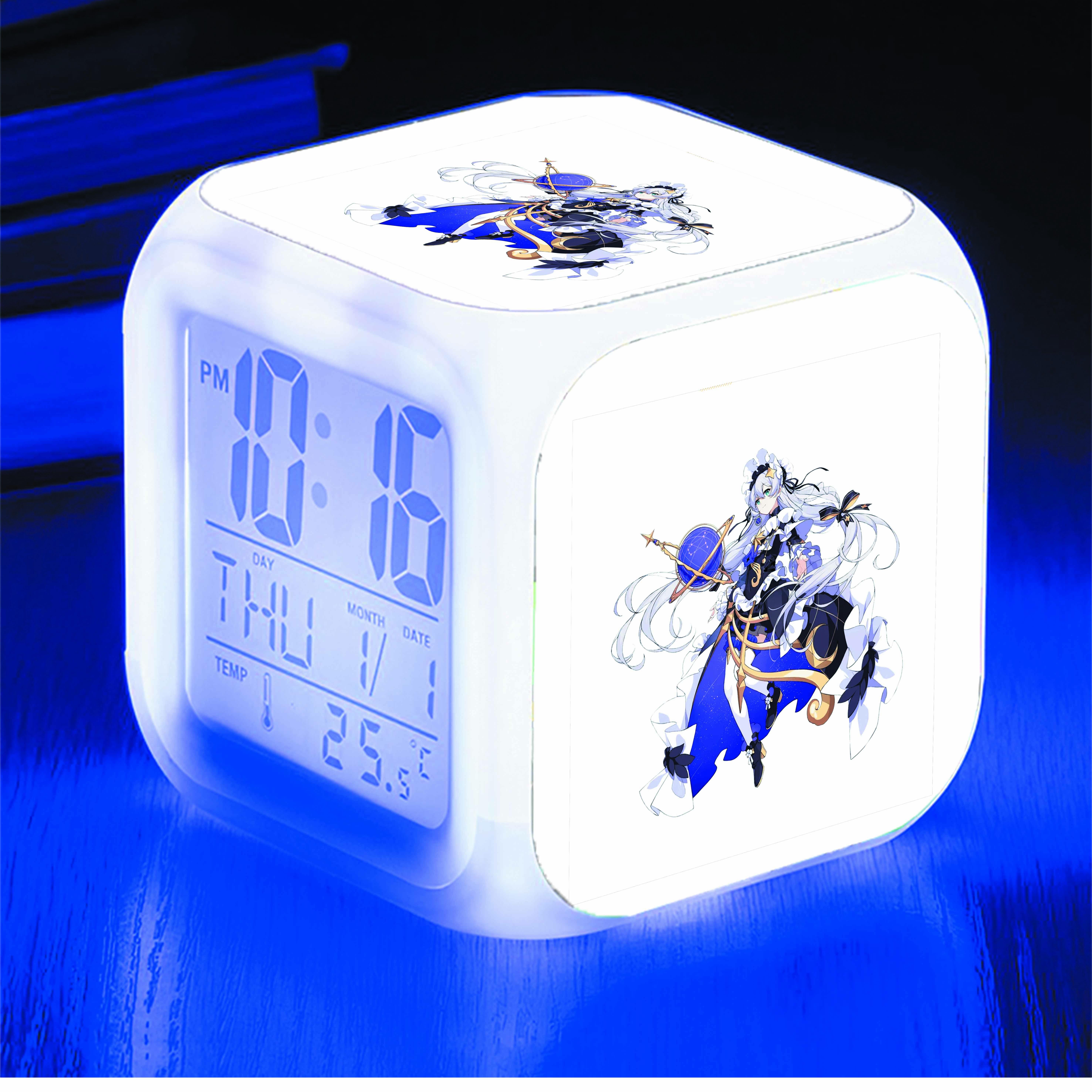 Đồng hồ báo thức để bàn IN HÌNH Honkai Impact 3