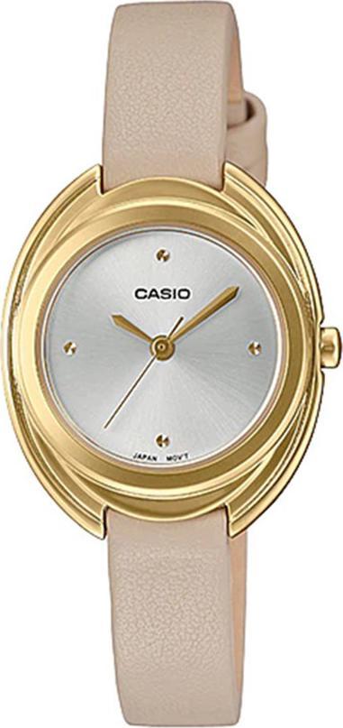 Đông hồ Casio Nữ - dây da - LTP-E166GL-7CDF