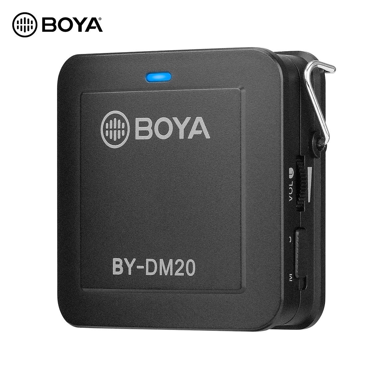 Micro thu âm Boya BY-DM20 - Hàng Chính Hãng
