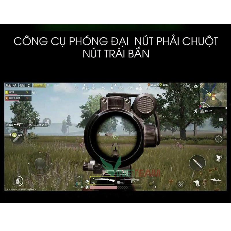 Bộ chuyển đổi game VINETTEAM SH-P5 chơi game PUBG, ROS, Free Fire và các game FPS khác Ứng Dụng Shootingplus V3 - Hàng Chính Hãng