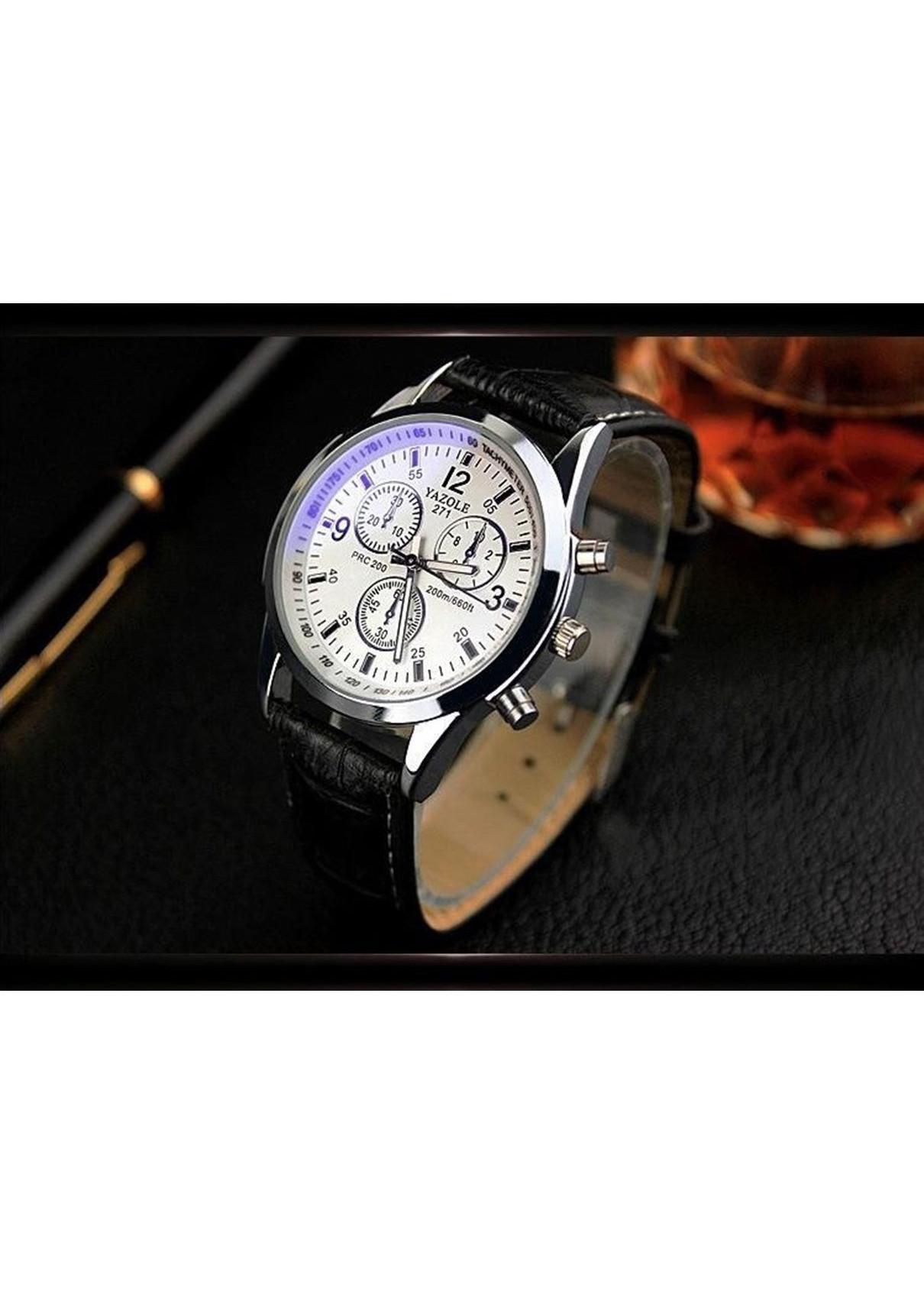 Đồng hồ nam dây da YZ271