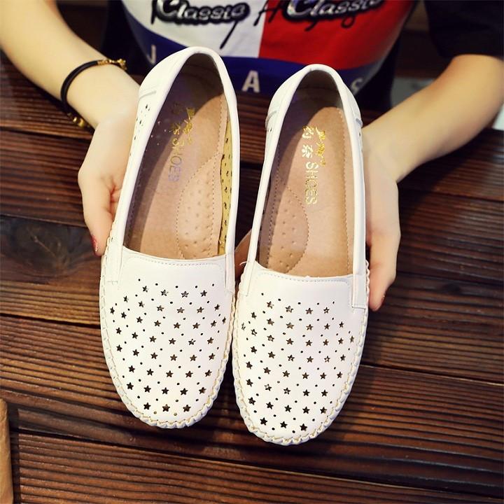 Giày búp bê nữ , Giày lười nữ , Giày mọi nữ , Giày slip on nữ cao cấp 1