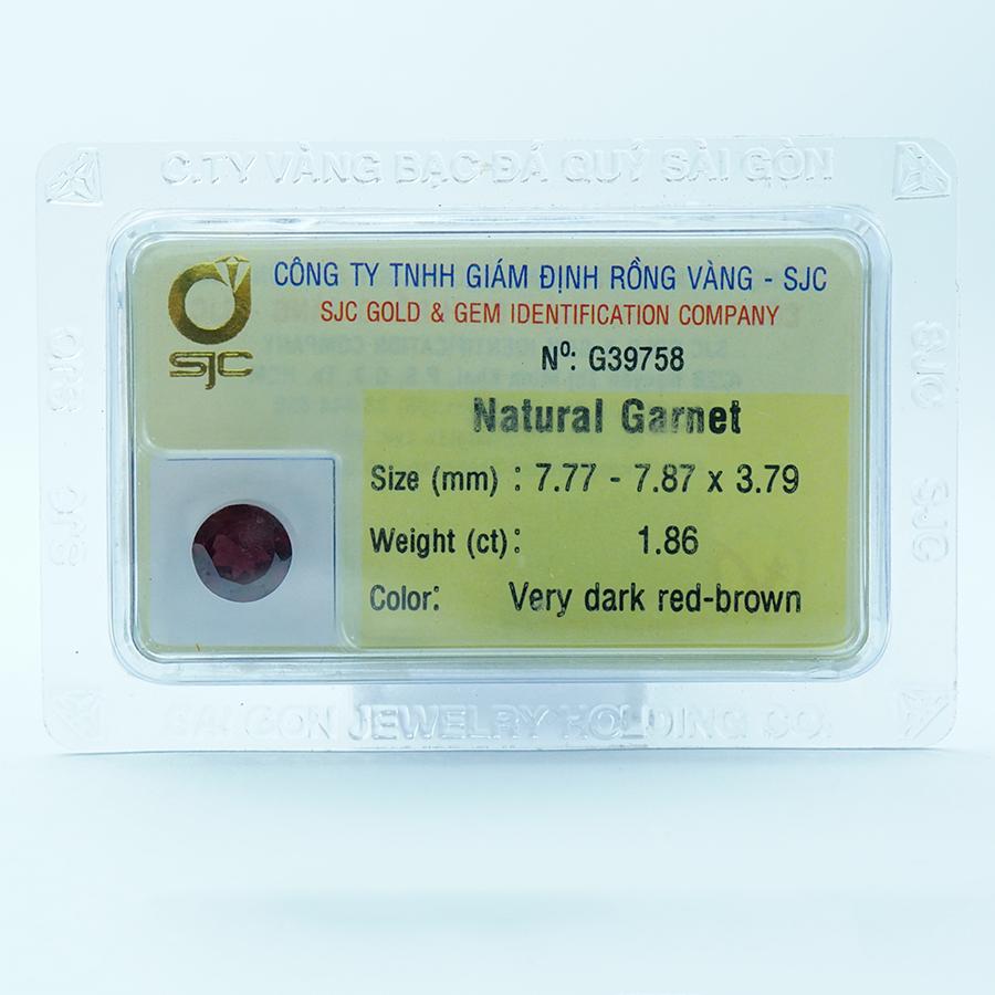 Mặt đá Garnet tự nhiên mài giác tròn kiểm định - 39758 - 23357899 , 9911084677907 , 62_14073690 , 1026000 , Mat-da-Garnet-tu-nhien-mai-giac-tron-kiem-dinh-39758-62_14073690 , tiki.vn , Mặt đá Garnet tự nhiên mài giác tròn kiểm định - 39758