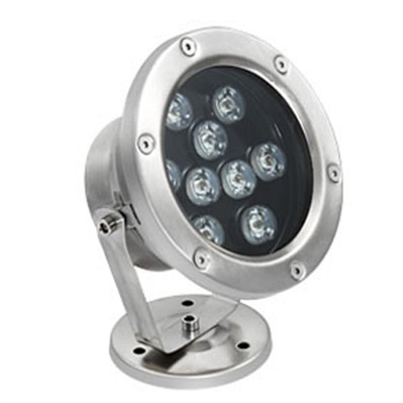 Đèn chân đế dạng LED 9w ánh sáng vàng (trắng ấm )