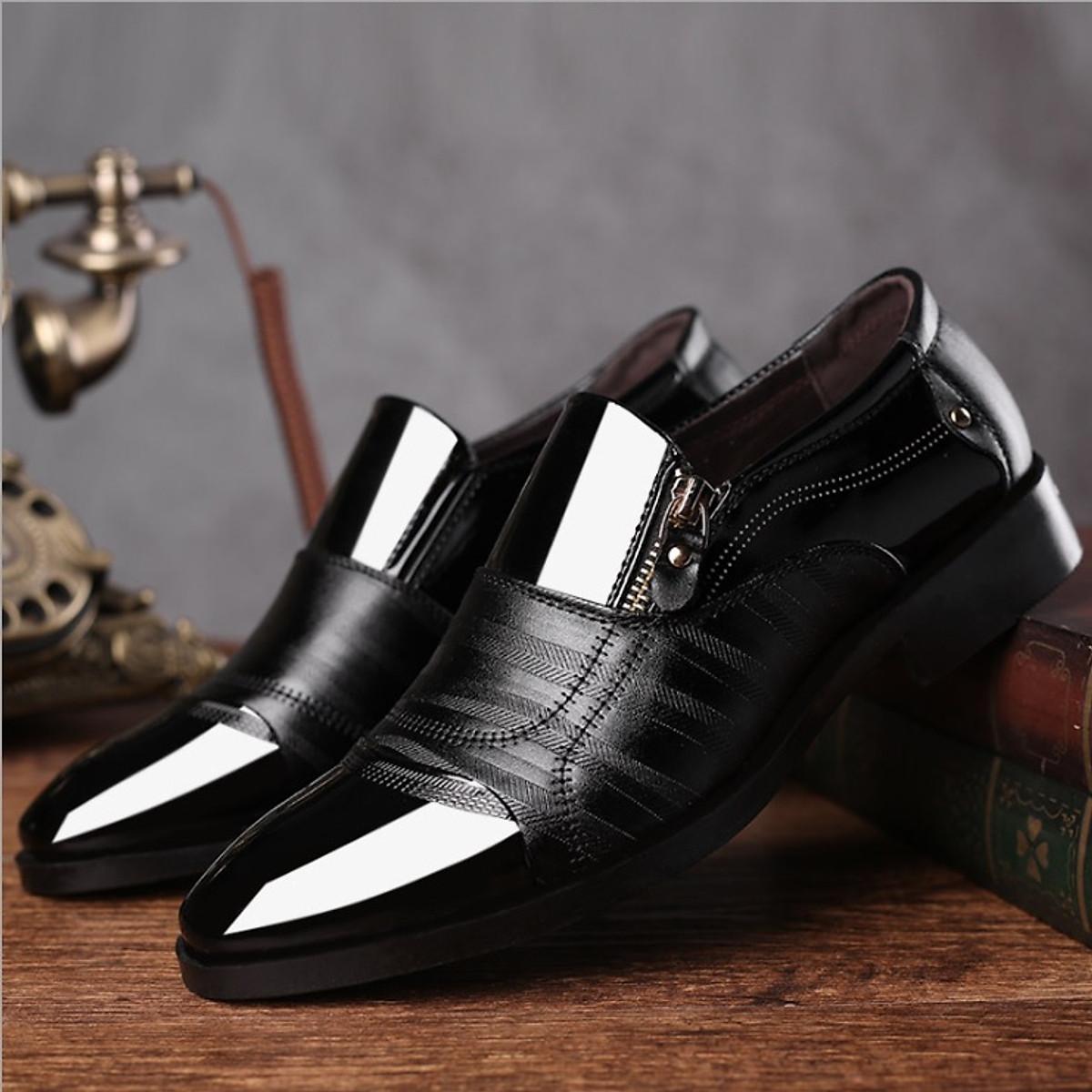 Giày tây nam công sở M07 - phong cách lịch lãm sang trọng.