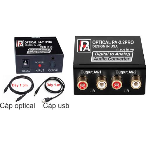 Bộ Chuyển đổi âm thanh Optical IPA-2.2PRO - Hàng chính hãng