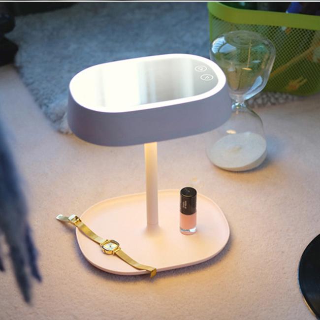 Gương trang điểm kiêm đèn ngủ Led MUID