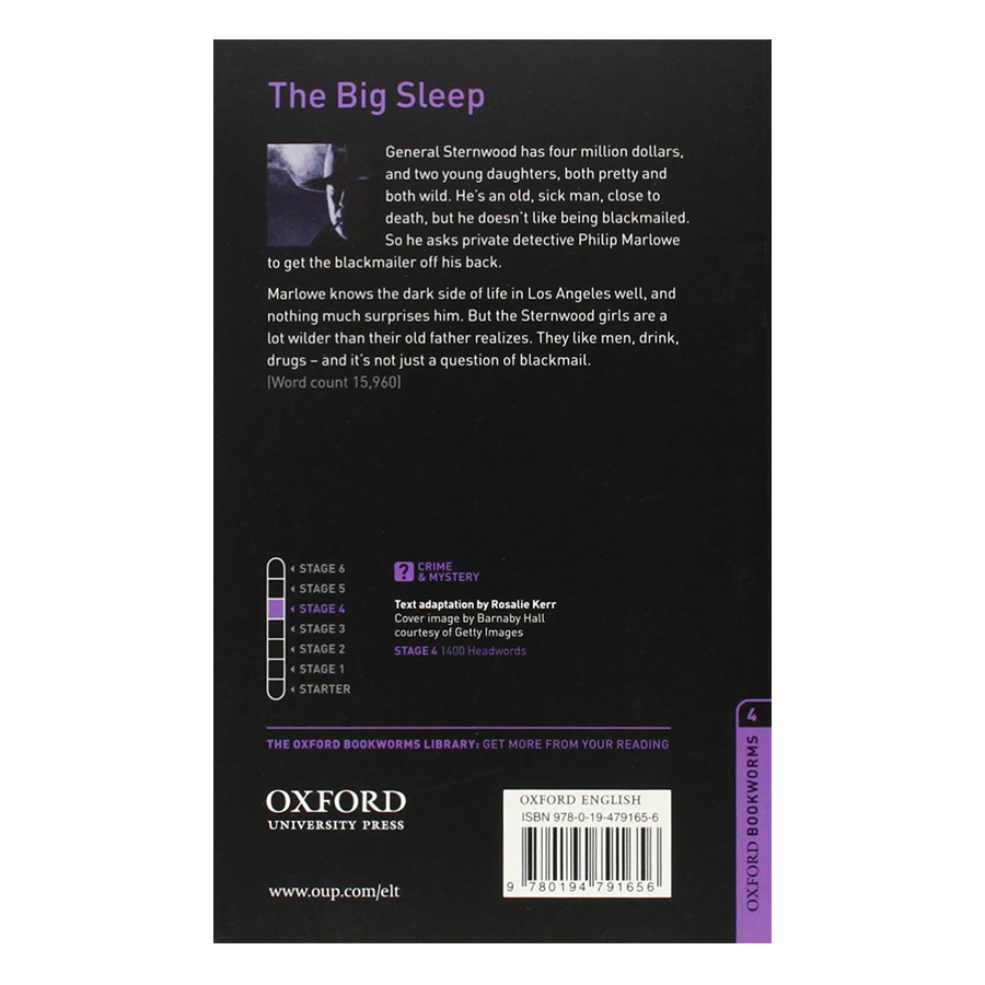 Oxford Bookworms Library (3 Ed.) 4: The Big Sleep