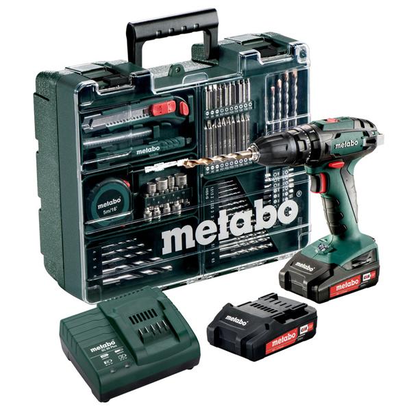Máy Khoan Metabo Dùng Pin - SB 18 Set
