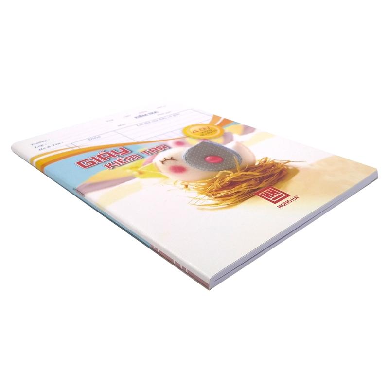 Bộ 3 Tập Kiểm Tra Hồng Hà 4 Ôly 80 Trang 4923 - Mẫu 2