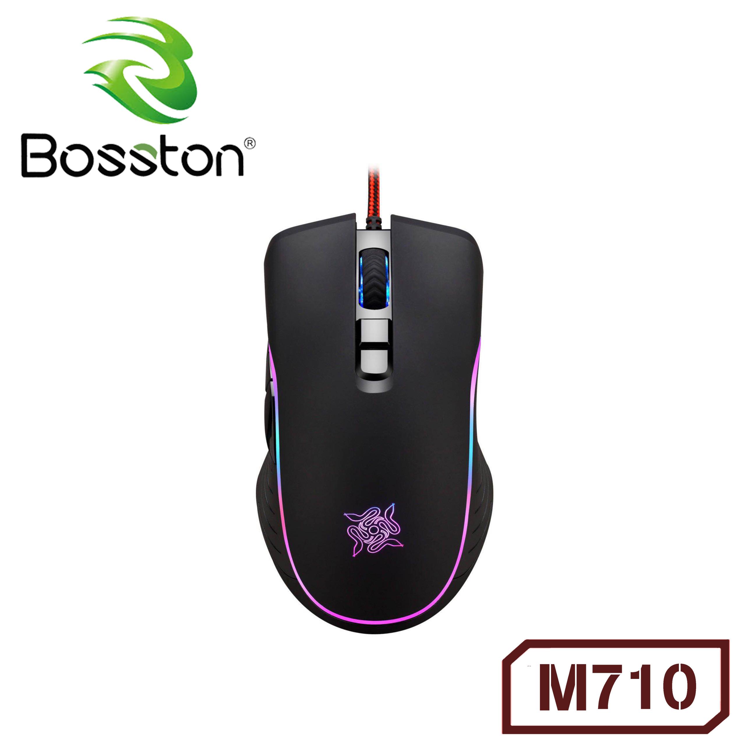 Chuột Bosston M710 LED RGB - Hàng Nhập Khẩu