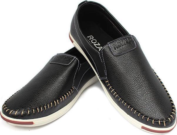 Giày lười da khâu siêu bền thời trang nam Rozalo R5732