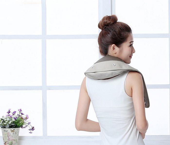 Đai Massage đấm lưng tẩm quất nhiều chế độ - hỗ trợ trị liệu đau nhức mỏi cổ, vai, gáy
