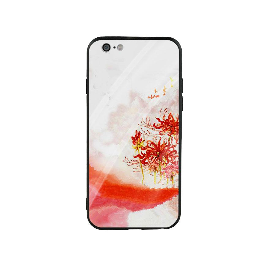 Ốp Lưng Kính Cường Lực cho điện thoại Iphone 6  6s - Higanbana 02