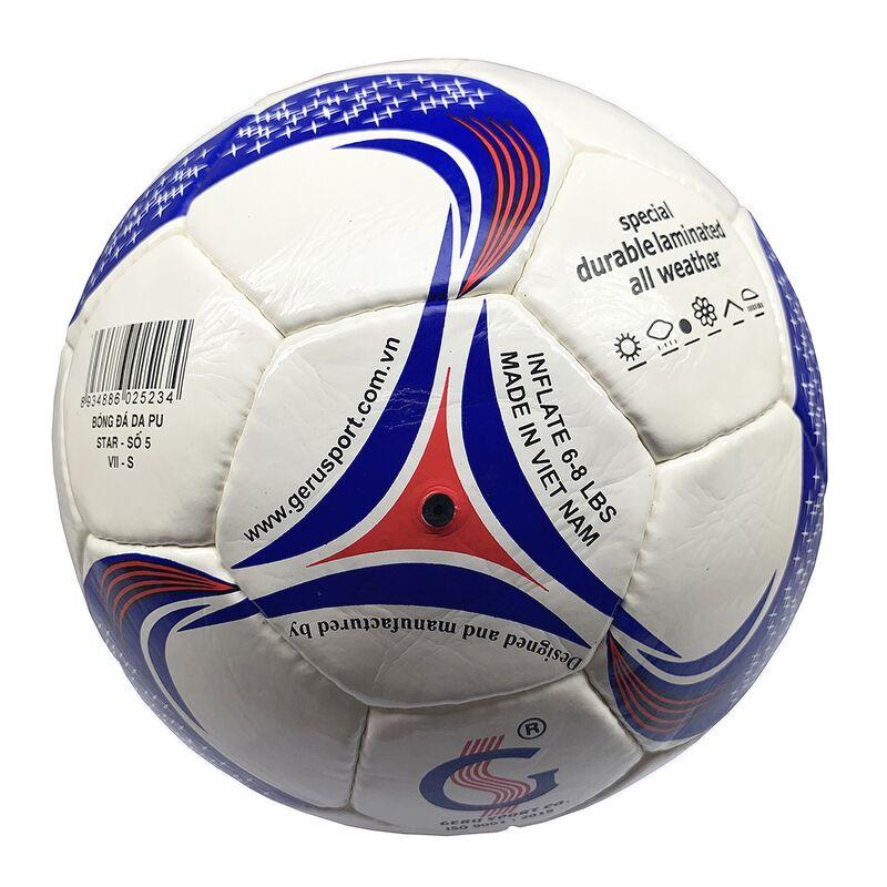 Bóng đá Gerustar Size 5 Star PU (Tặng Băng dán thể thao + Kim bơm + Lưới đựng)
