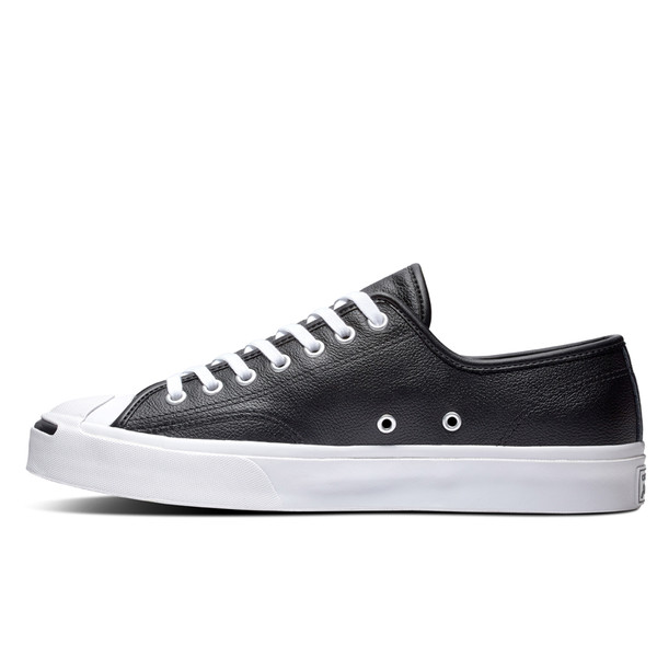 Giày Converse Jack Purcell Leather Black - Low - 164224C