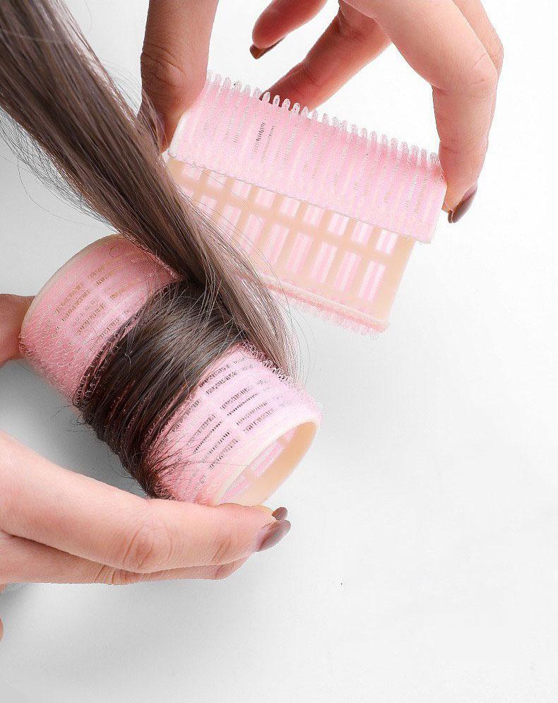 Lô cuốn tóc, lô uốn tóc gai dính tạo độ phồng sóng bồng bềnh giúp nàng thêm xinh KT31