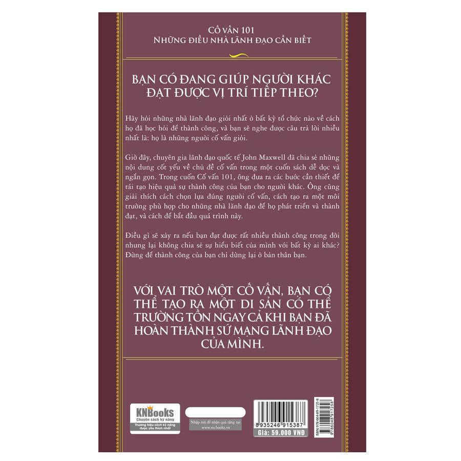 Cố Vấn 101 – Những Điều Nhà Lãnh Đạo Cần Biết