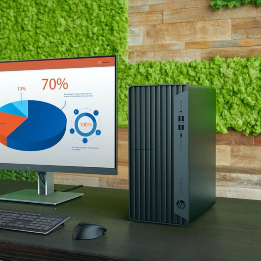 PC HP ProDesk 400 G7 MT 46L58PA (Core i3-10100/ 4GB RAM/ 1TB HDD/ Win 10) - Hàng Chính Hãng