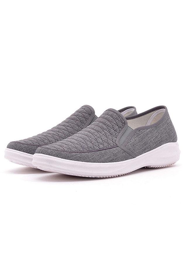 Giày Sneakers Thể Thao Đế Êm TN84 - Xám