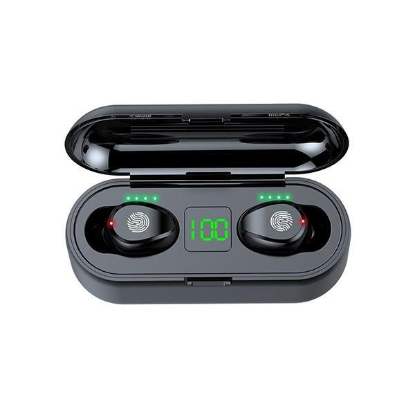 Tai nghe Bluetooth TAI000F9B Viet Nam F9 nút cảm ứng Bluetooth 5.0 Pin 280 giờ tích hợp sạc dự phòng