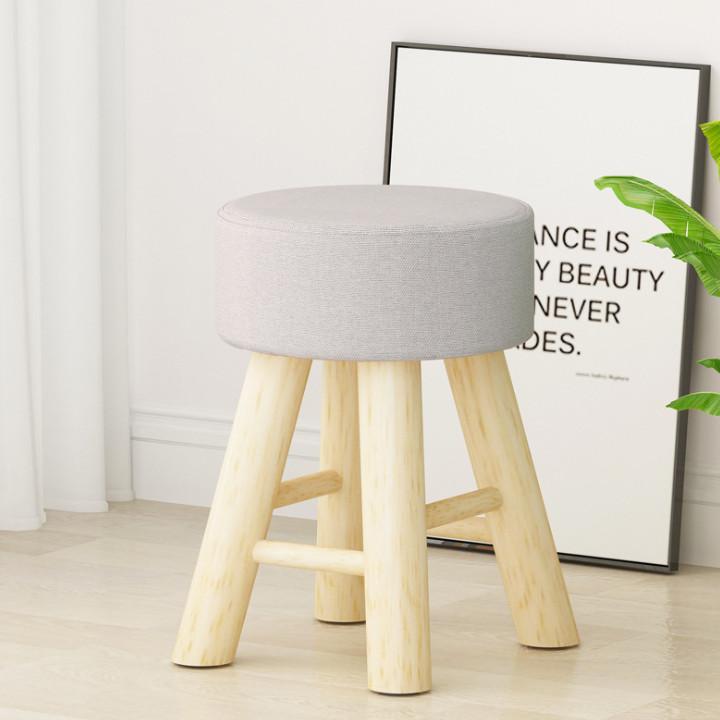 Ghế trang điểm bằng gỗ
