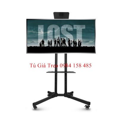 Giá treo tivi di động nhập khẩu DK1500 dùng cho tivi 32-65inch, màu đen, sơn tĩnh điện siêu bền