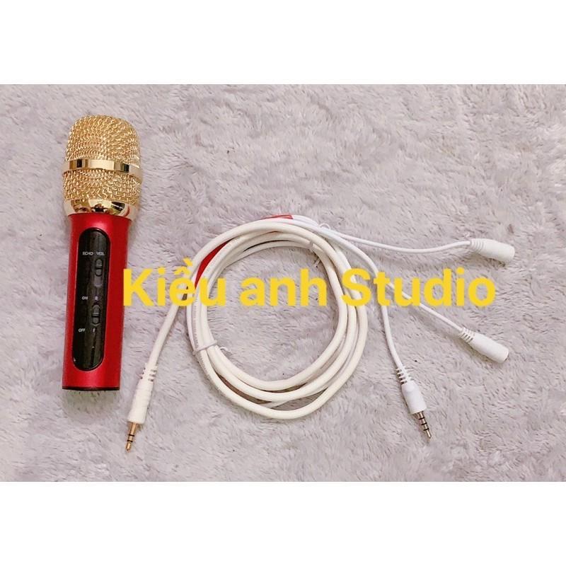 Micro C11 Phiên bản nâng cấp IC bắt xa 3m âm thanh cực hay tặng kèm dây lấy nhạc tai nghe dài 2m