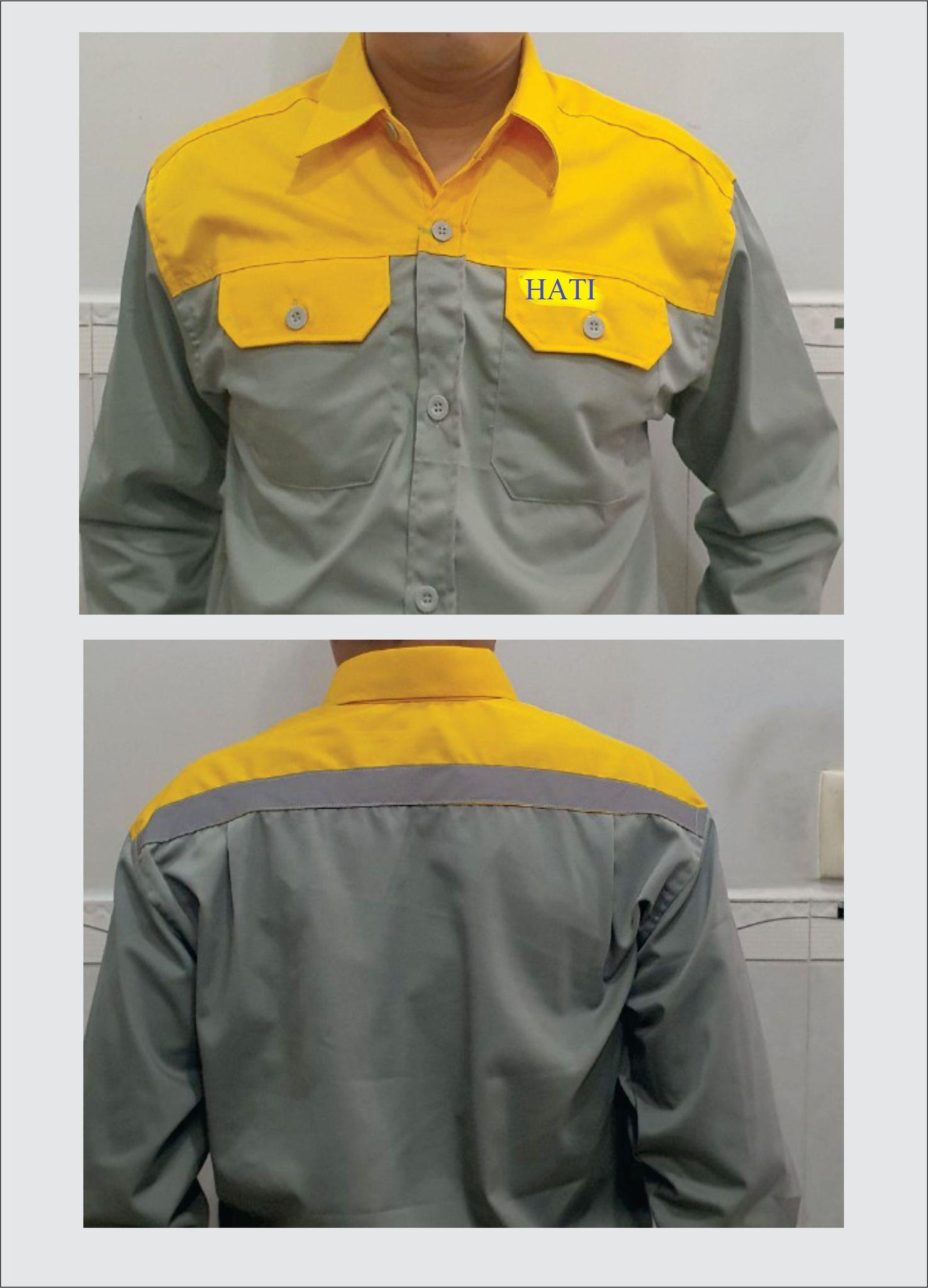 Bộ quần áo bảo hộ lao động nam