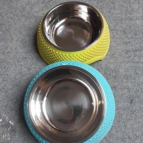 Bát ăn cho chó mèo - Màu ngẫu nhiên