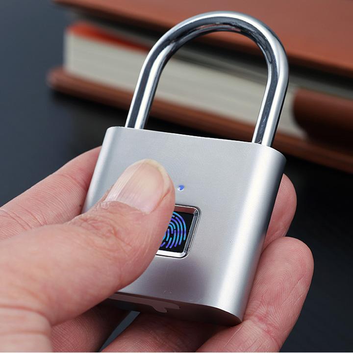 Ổ khóa vân tay thông minh chống nước - Khóa Thông Minh Bảo Mật Vân Tay