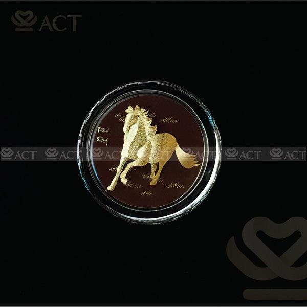 Chặn Giấy - Ngọ ACT Gold